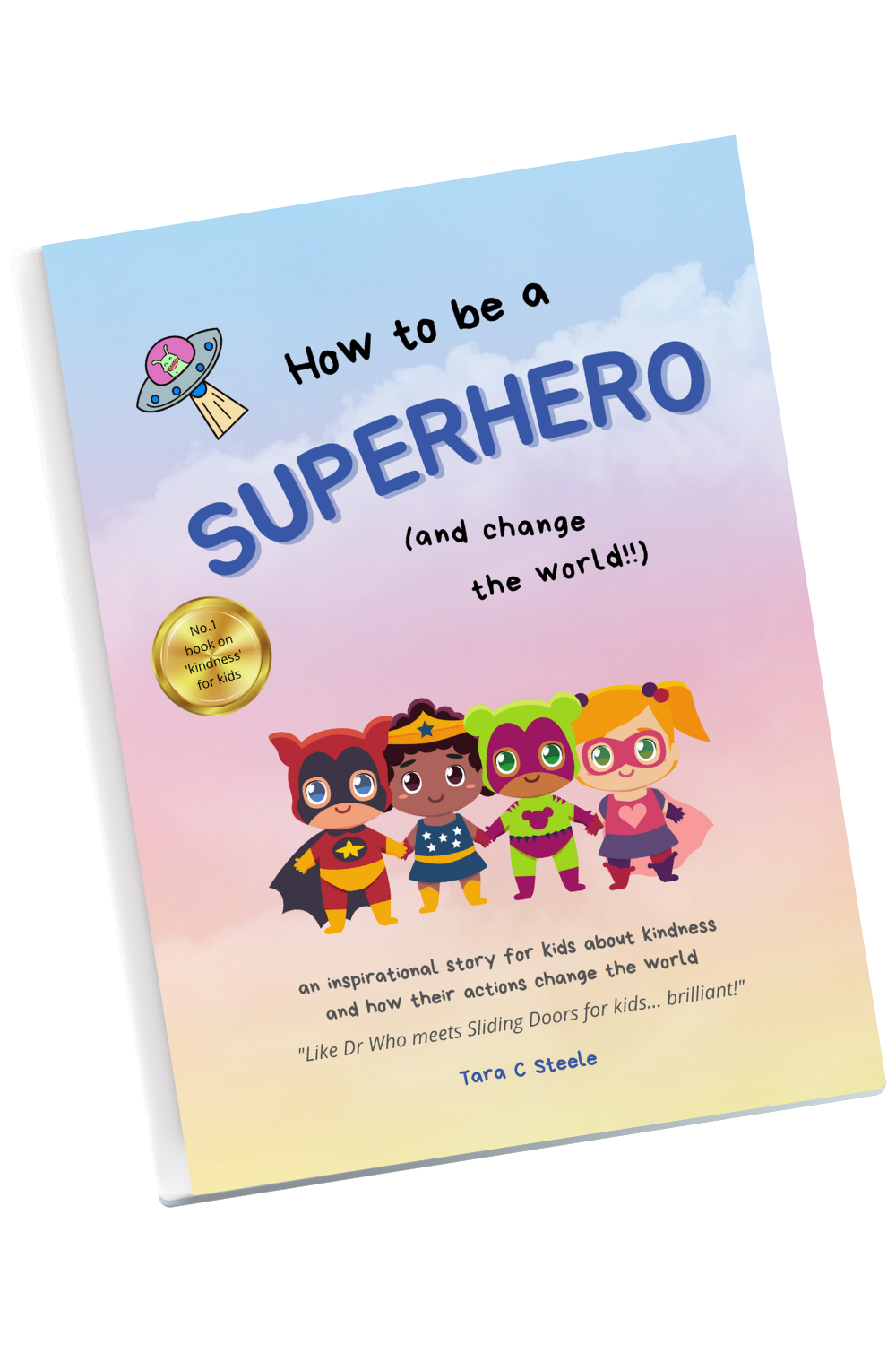 Book on Kindness for Kids How to be a Superhero